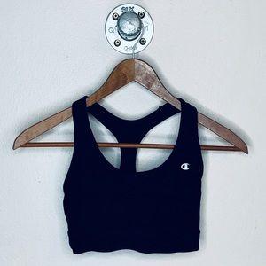 Black Champion sports bra .